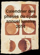 Calendrier des phases lunaires 2014